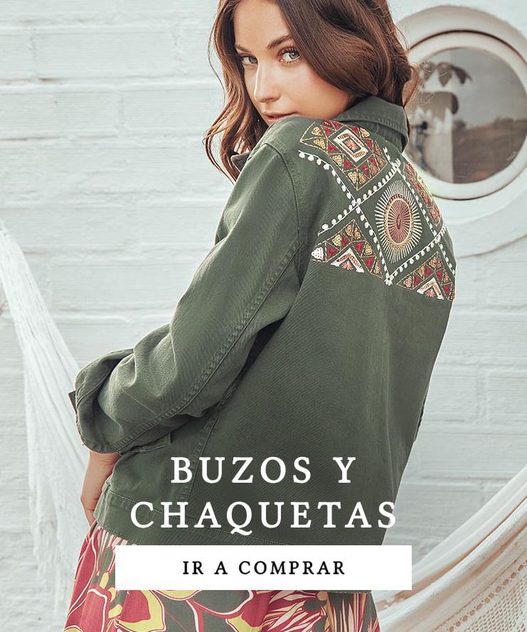 Topmark nueva colección buzos y chaquetas para mujer