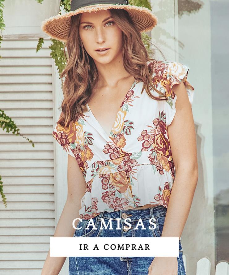 Topmark nueva colección camisas para mujer